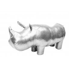 Пуф Носорог NW Platy (Серебристый) купить в томске