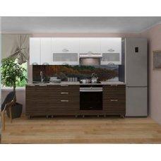 Кухонный гарнитур Торино   Недорогая кухня с доводчиками   Недорогая кухня с МДФ Фасадами