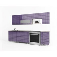 Кухонный гарнитур Троя | Кухонный гарнитур с 3D фасадами