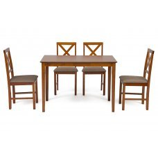 Обеденный комплект Хадсон (стол + 4 стула)